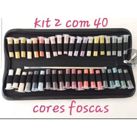Kit  2 com 40 cores