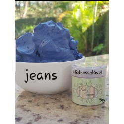 Corante Jeans Hidrossoluvel com 5g