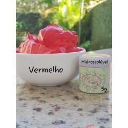 Corante Vermelho Hidrossoluvel com 5g