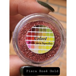 Corante Colore Pisca Rose Gold